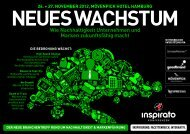 Konferenz NEUES WACHSTUM 2012