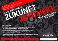 Konferenz ZUKUNFT APOTHEKE 2012