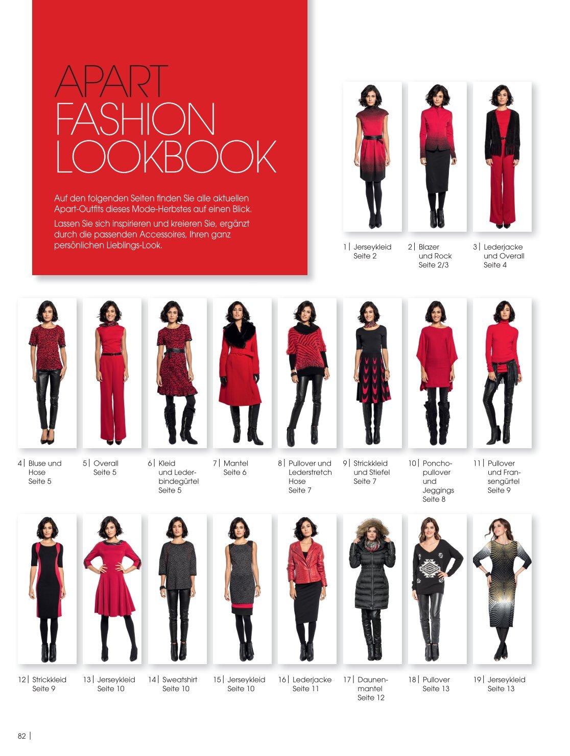 Apart fashion mantel