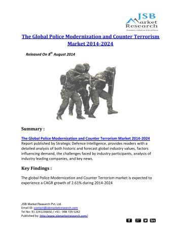 Global police modernization and counter terrorism