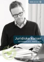 Juridiske kurser september 2014 - marts 2015