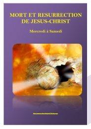 MORT ET RESURRECTION DE JESUS-CHRIST