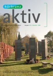 Hörbranz aktiv - November 2008 - Allerheiligen - jährlicher Gedenktag für unsere Verstorbenen