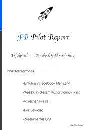 FB Pilot Report