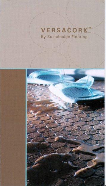 Cork flooring, corkmosaic from Versacork, made by Bleile