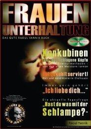 FRAUENUNTERHALTUNG - DAS MAGAZIN (Emotionale Konditionierung und Konkubinen mit abgeschnittenen Köpfen)