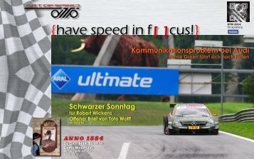 {have speed in f[ ]cus!} 06 Rennen DTM 2014 Spielberg [A]