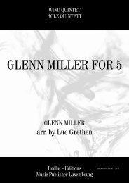 GLENN MILLER FOR 5