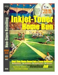 Inkjet-Toner Start Your Home Business Free with NDITC