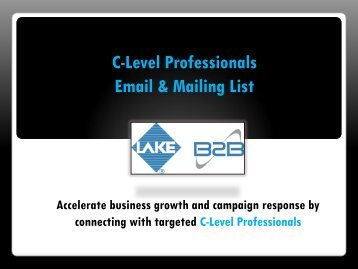 Email & Mailing List