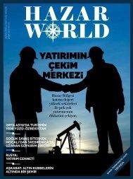 Hazar World - Sayı: 03 - Şubat 2013
