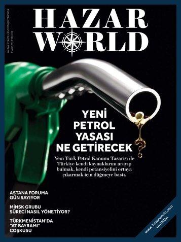 Hazar World - Sayı: 06 - Mayıs 2013