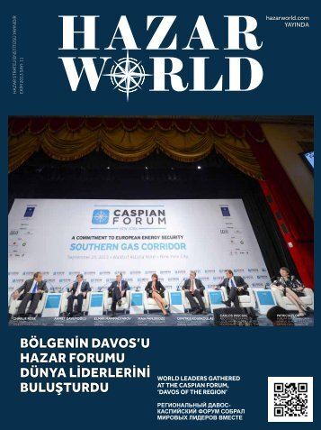 Hazar World - Sayı: 11 - Ekim 2013
