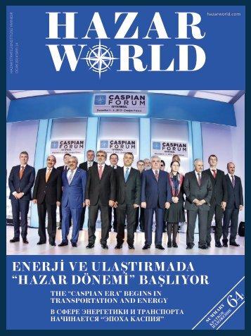Hazar World - Sayı: 14 - Ocak 2014