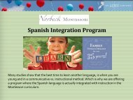 Spanish Integration Program