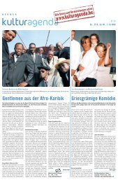 Berner Kulturagenda 2008 N°39