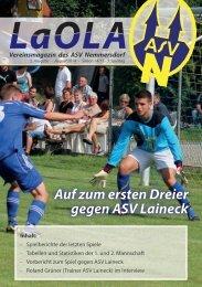 LaOla - Ausgabe 2 - Saison 2014/2015 - 17.8.2014