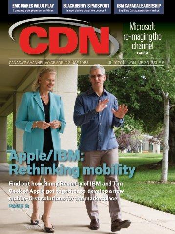 Apple/IBM: Rethinking mobility