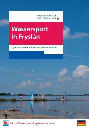 Wassersport in Fryslân