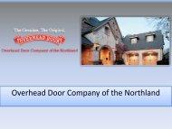 Sectional Steel Doors Minneapolis