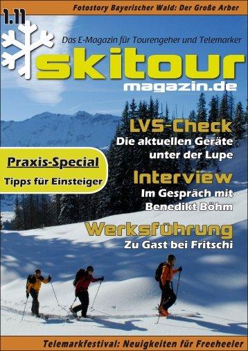 Skitour-Magazin 1.11