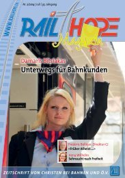 RailHope Magazin 2/2014