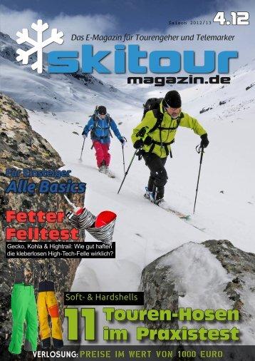 Skitour-Magazin 4.12