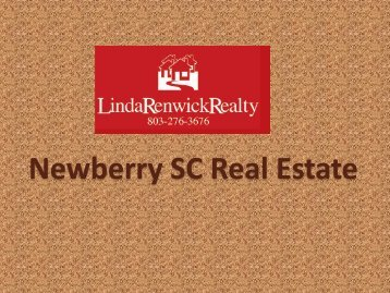 Newberry SC Real Estate