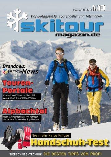 Skitour-Magazin 1.13
