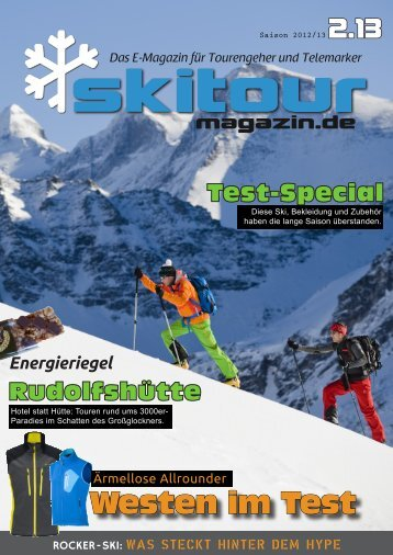 Skitour-Magazin 2.13