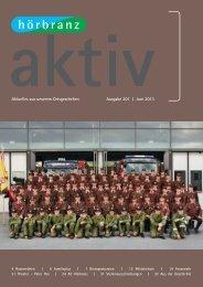 Hörbranz aktiv - Juni 2013 - Feuerwehr