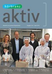 Hörbranz aktiv - April 2014 - Photovoltaik Aktion