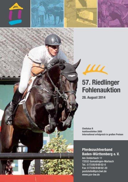 57. Riedlinger Fohlenauktion