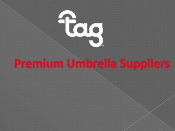 Premium Umbrella Suppliers