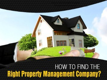 Tips to Choose Property Management Services in Kansas City