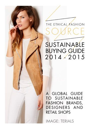SOURCE Sustainable Buying Guide 2014-2015