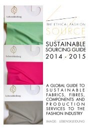 SOURCE Sustainable Sourcing Guide