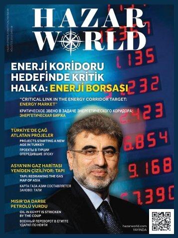 Hazar World - Sayı: 09 - Ağustos 2013