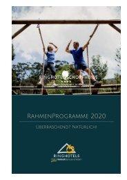RAHMENPROGRAMME 2020