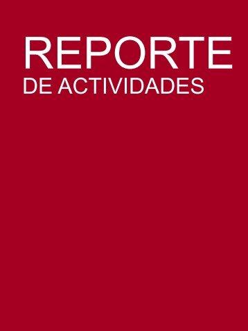 Reporte de actividades Julior League primer bimestre