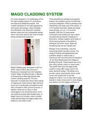 MAGO CLADDING SYSTEM