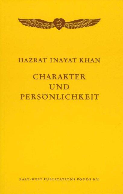 Charakter und Persönlichkeit von Hazrat Inayat Khan (Leseprobe)