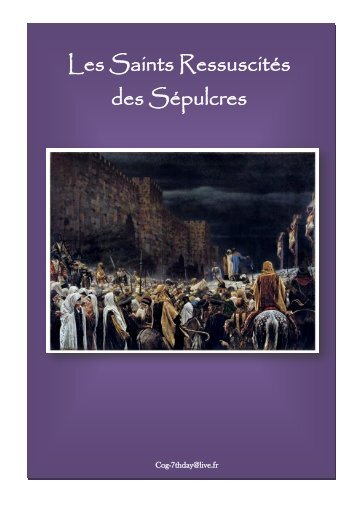 Les Saints Ressuscités des Sépulcres