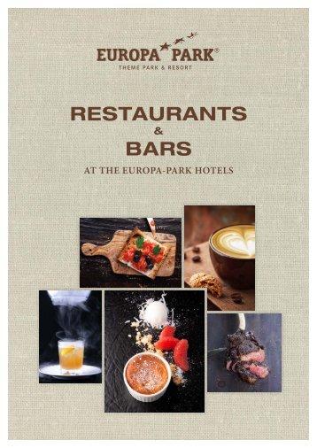 Restaurants & Bars at Europa-Park Hotels
