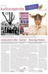 Berner Kulturagenda 2009 N°12