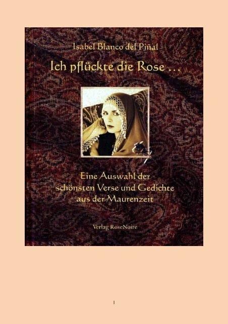 Historische Arabesken - Die hispano-arabische Dichtkunst