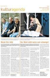 Berner Kulturagenda 2009 N°46