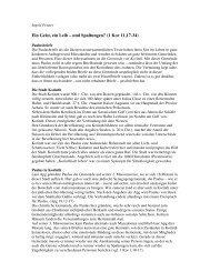 Bibelarbeit 1 Kor 11 Herrenmahl