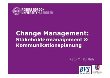 Change Management: