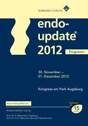 30. November – 01. Dezember 2012 Kongress am Park Augsburg
